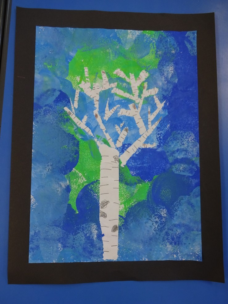 Featured image for the project: Tree Collages